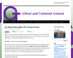 gifted and talented ireland